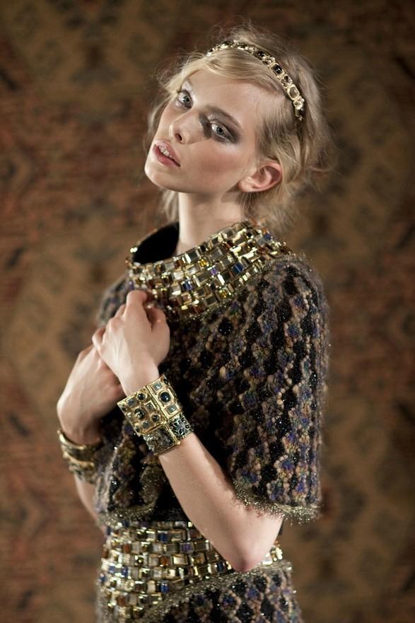 Съёмка: Таня Дягилева в Chanel для Grey. Изображение № 2.