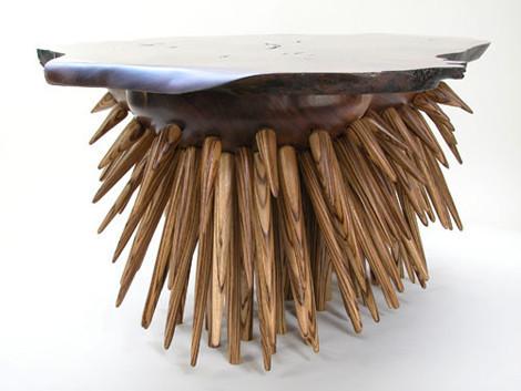 Кресло из дикобраза. Изображение № 9.