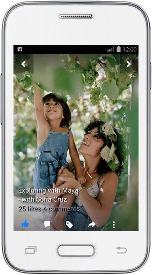 Facebook выпустил версию для медленных смартфонов . Изображение № 2.