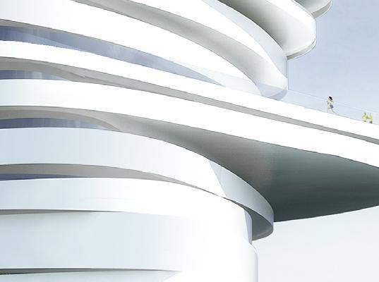 AbuDhabis Spiraling Helix Hotel. Изображение № 2.