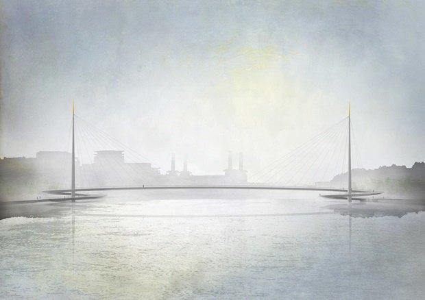 Выложены 74 проекта нового моста через Темзу. Изображение № 19.