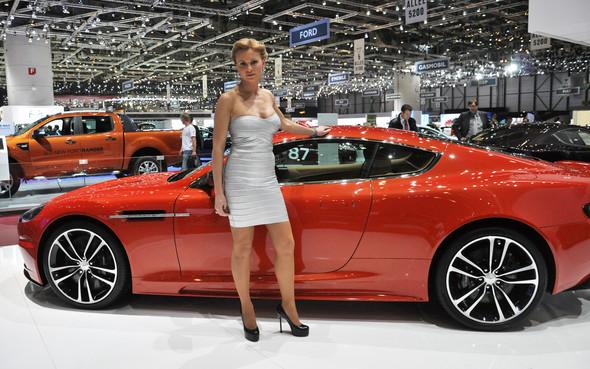 Natalia Freidina at 82nd Geneva International Motor Show. Изображение № 10.