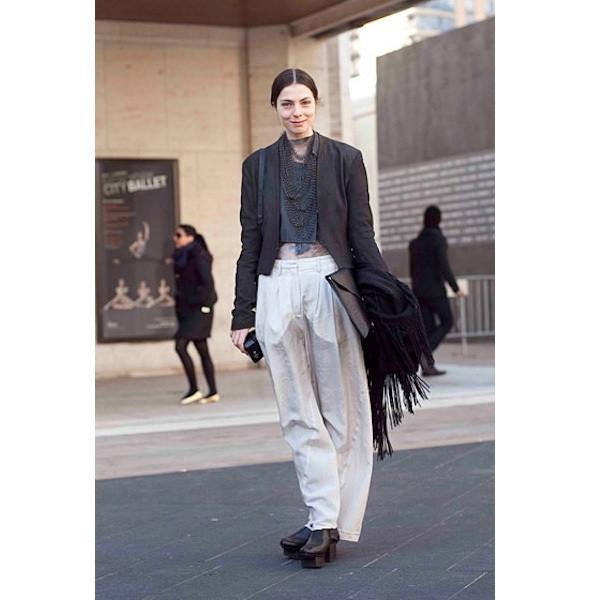 Изображение 146. На полях: 10 тенденций уличного стиля с прошедших недель моды.. Изображение № 146.