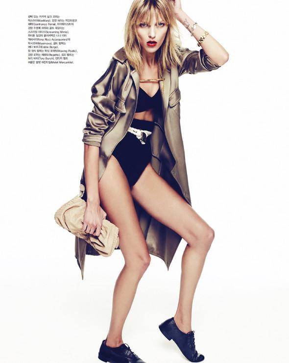 5 новых съемок: Elle, Harper's Bazaar, Numero и Vogue. Изображение № 44.