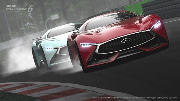 Концепт: суперкар Infiniti для игры Gran Turismo. Изображение № 34.