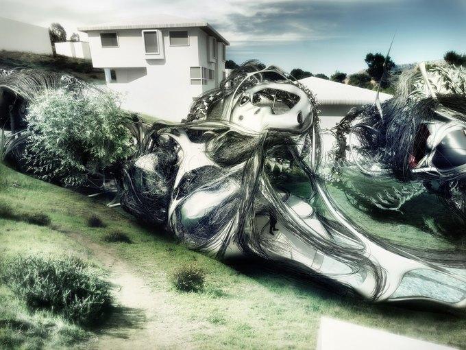 Архитектор предложил концепцию «биологического» дома. Изображение № 4.
