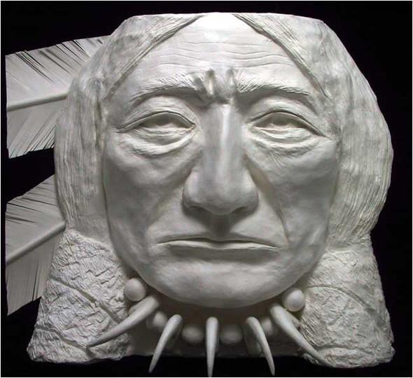 Бумажные скульптуры. Изображение № 25.