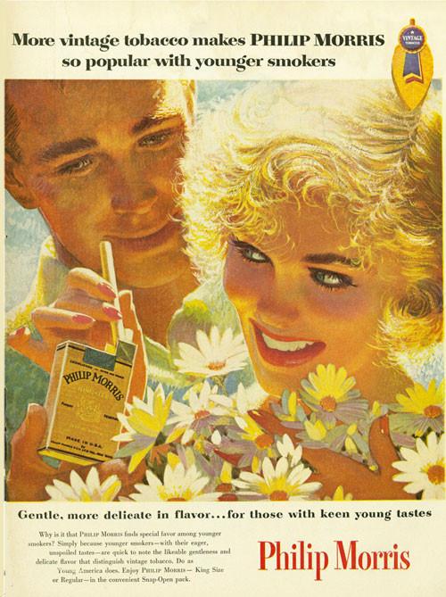 Винтажная реклама табака. Изображение № 15.