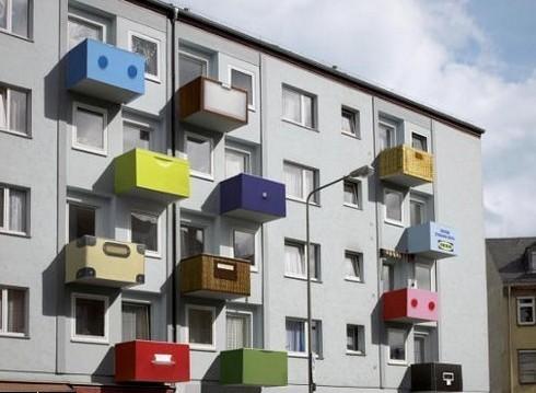 Креативные балконы. Увы, нев наших домах. Изображение № 2.