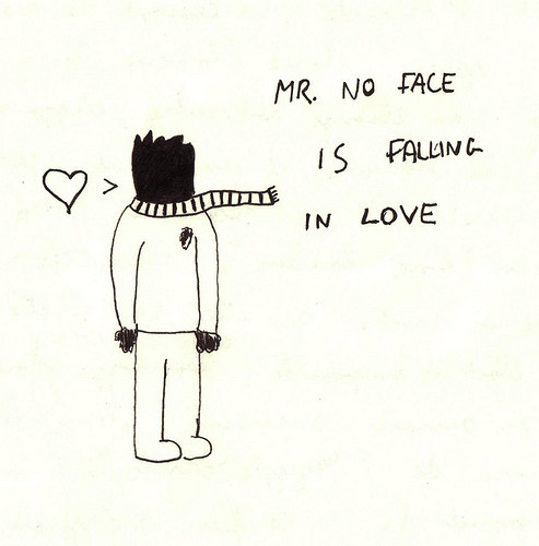 Mr. No Face is Falling in love. Изображение № 15.