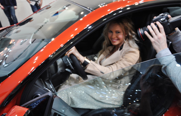 Natalia Freidina at 82nd Geneva International Motor Show. Изображение № 14.