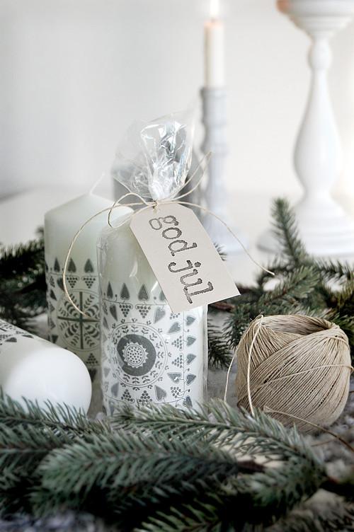 Рождественский декор дома. Простые идеи. Изображение № 2.