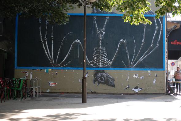 Животный стрит-арт от бельгийского граффитчика ROA. Изображение № 3.