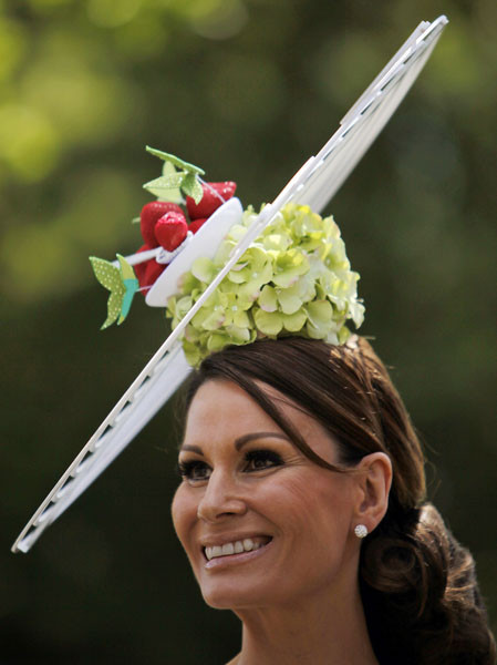 Самые необычные иизысканных шляпки Royal Ascot. Изображение № 55.