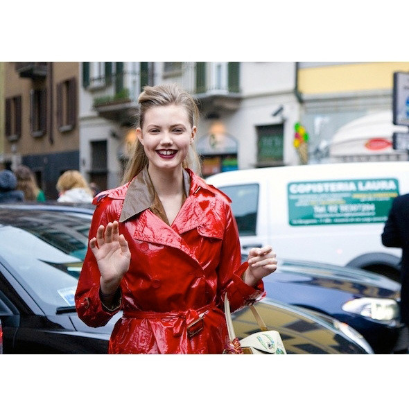 Изображение 48. На полях: 10 тенденций уличного стиля с прошедших недель моды.. Изображение № 48.