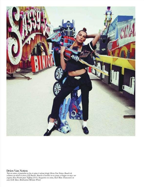 Съёмка: Дарья Вербова для французского Vogue. Изображение № 61.