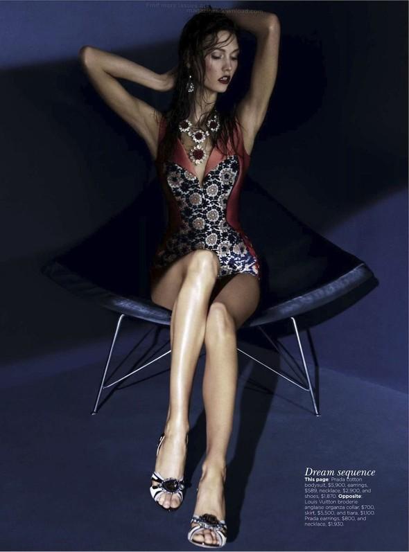 Съёмка: Карли Клосс для австралийского Vogue. Изображение № 5.