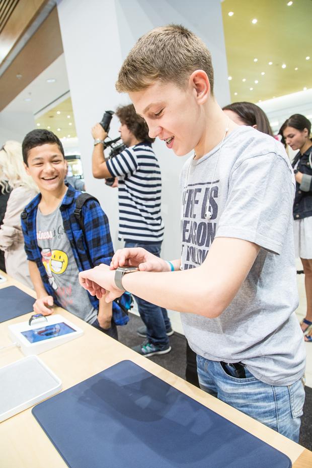 Открытие Apple Shop в ЦУМе. Изображение № 5.