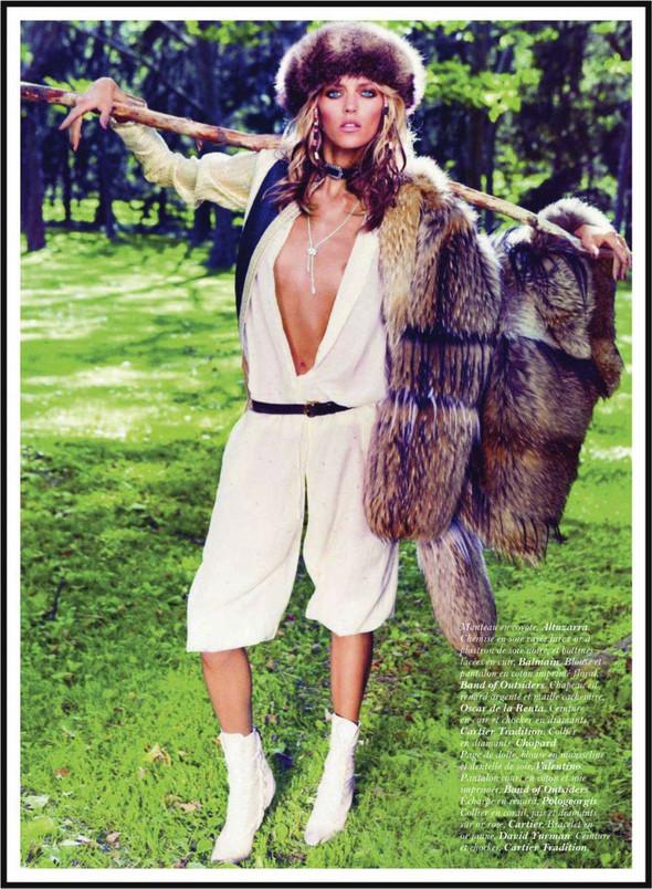 Съёмка: Аня Рубик для Vogue. Изображение № 2.