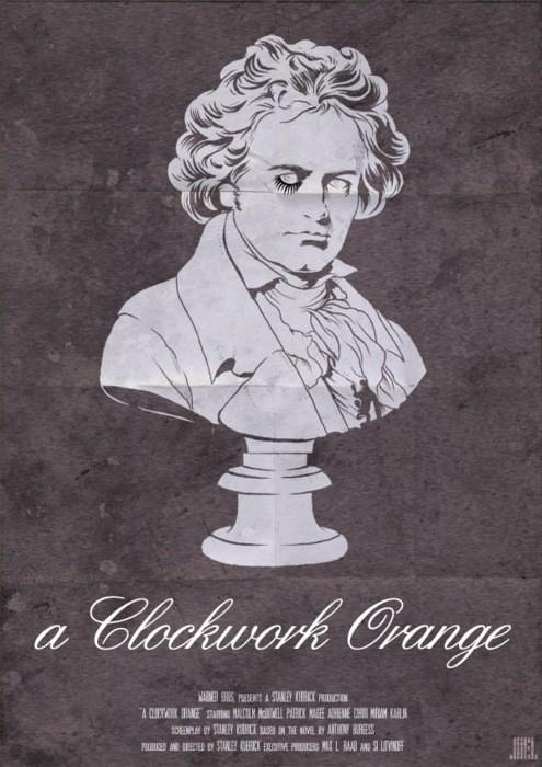 A Clockwork Orange - 20 кинопостеров на тему ультранасилия. Изображение № 16.