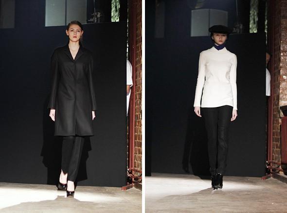 Изображение 10. Bezous FW 2011: брюки со стрелками и платья-футляры.. Изображение № 10.