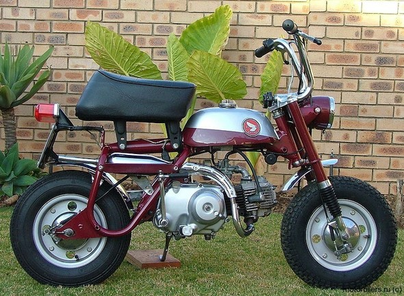 Honda Monkey Живая легенда. Изображение № 4.