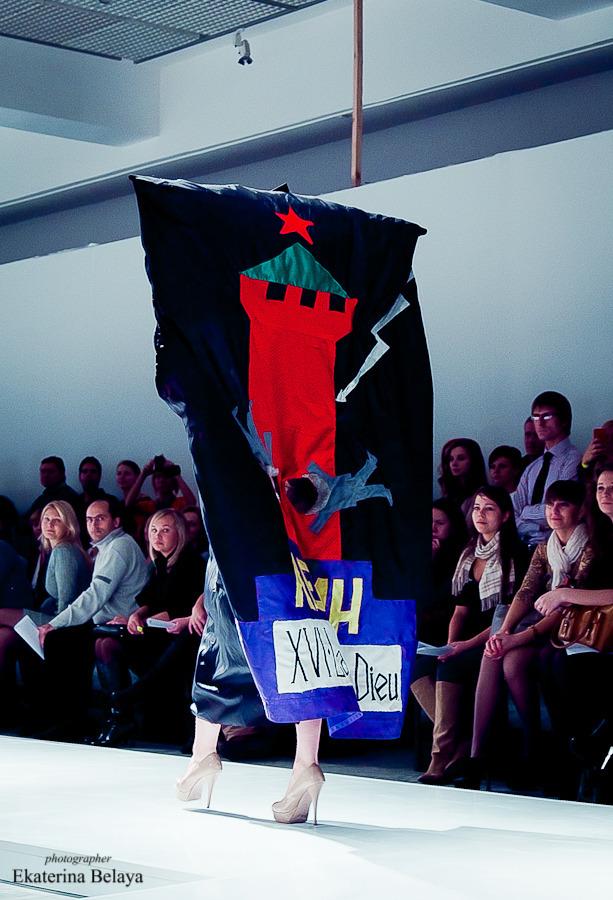 Fashion-перфоманс от SKIF Fashion. AURORA FASHION WEEK Russia SS13. Изображение № 3.