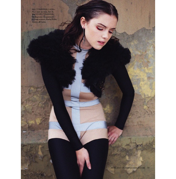 Новые съемки: Numero, Playing Fashion, Tangent и Vogue. Изображение № 23.