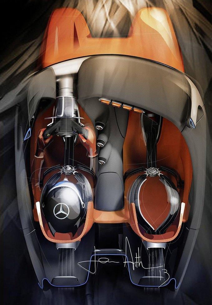 Mercedes-Benz разработала концепт спорткара для новой части Gran Turismo. Изображение № 18.