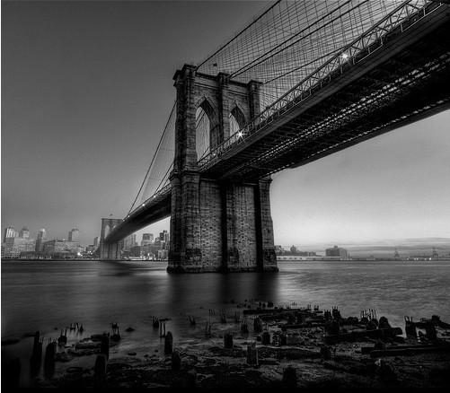 20 черно-белых фотографий мостов совсего мира. Изображение № 9.