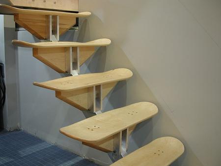 Скейтборд-лестница. Изображение № 1.