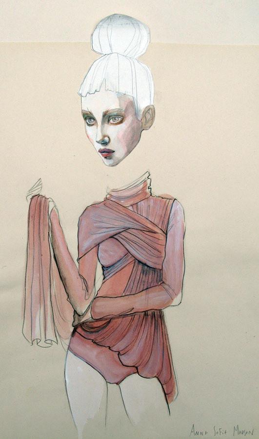 Изображение 8. Fashion-иллюстрационация от Anne Sofie Madsen.. Изображение № 8.