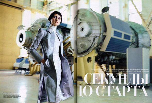 Космос рядом: модные съемки к выходу фильма «Прометей». Изображение №19.