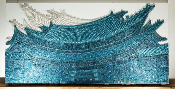 Тысячи мелочей: Настенные панно Рен Хванг. Изображение № 9.
