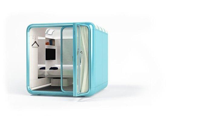 В Юте создали бокс-спальню для жизни на работе. Изображение № 2.