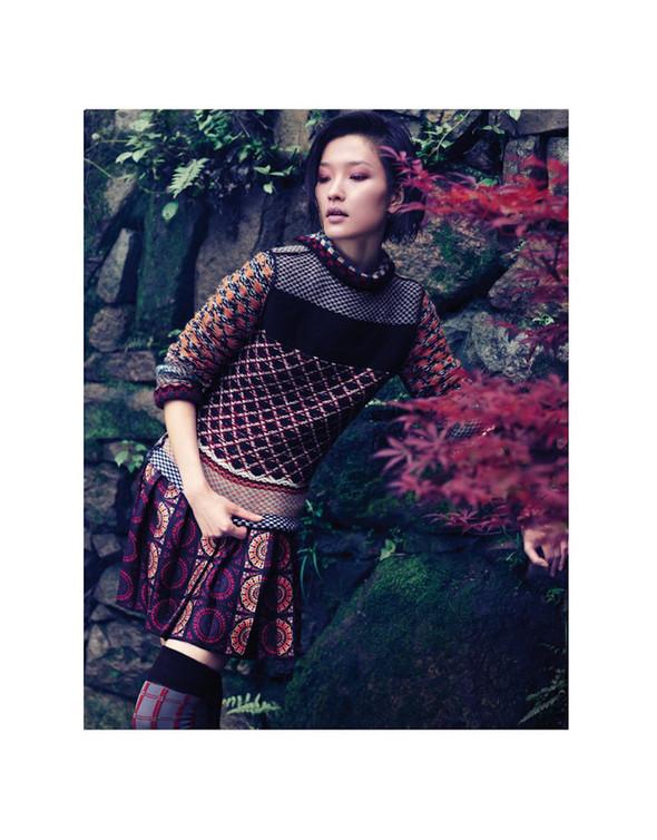 Съёмка: Ду Цзюань для Vogue. Изображение № 4.
