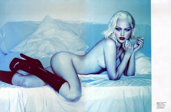 Превью съёмки: Саша Пивоварова для Vogue. Изображение № 4.