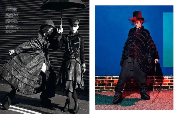 Новые съемки Dazed & Confused, Vogue, i-D и W Magazine. Изображение № 11.