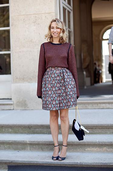 Уличный стиль на Неделе высокой моды в Париже. Изображение № 36.