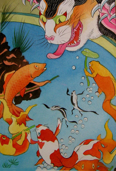 Звериная Япония Мойры Хан. Изображение № 7.