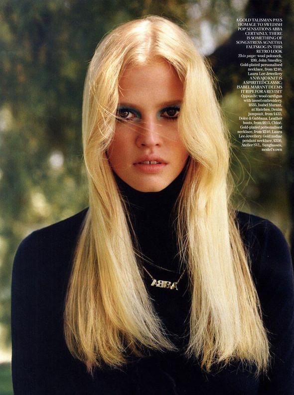 Лара Стоун в Vogue UK. Изображение № 9.