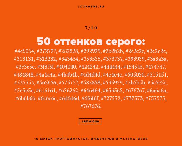 Над чем смеются зануды: 10 шуток программистов, инженеров и математиков. Изображение № 8.
