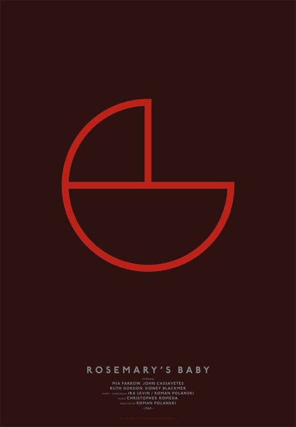 Дизайнер переделал постеры кинохитов в минималистском стиле. Изображение № 8.