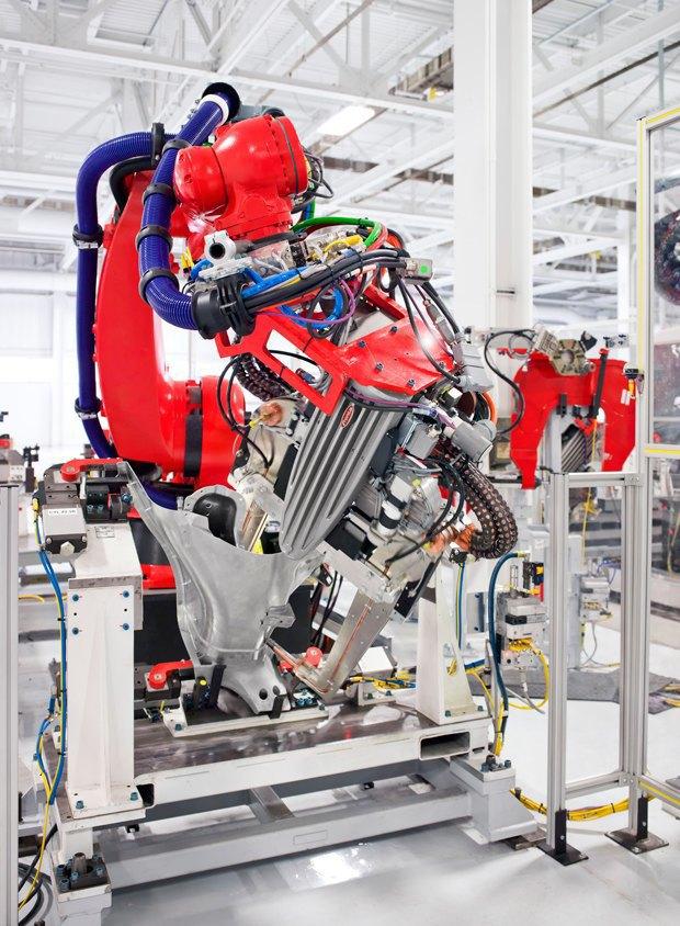 Как создаются электромобили Tesla. Изображение № 13.