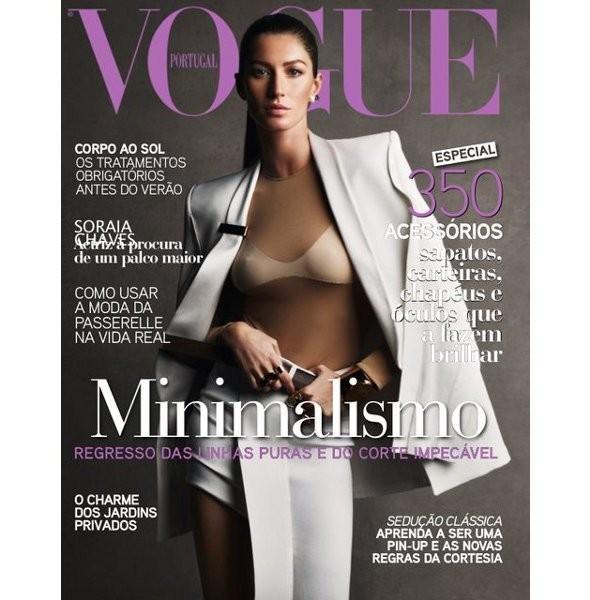 Изображение 5. Обложки Vogue: Франция, Британия и другие.. Изображение № 4.