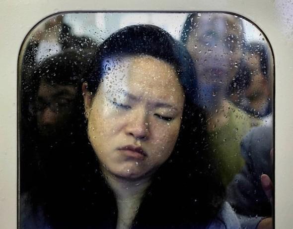 Час пик в метро. Токио. Изображение № 4.