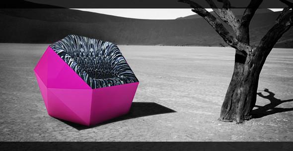 Cинтезе культур- удобное кресло в стиле фьюжн (fusion). Изображение № 1.