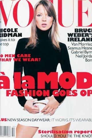 Кейт Мосс на обложках vogue. Изображение № 19.