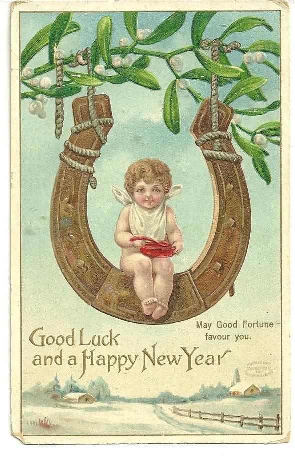 Новогодние открытки 1912 года. Изображение № 15.