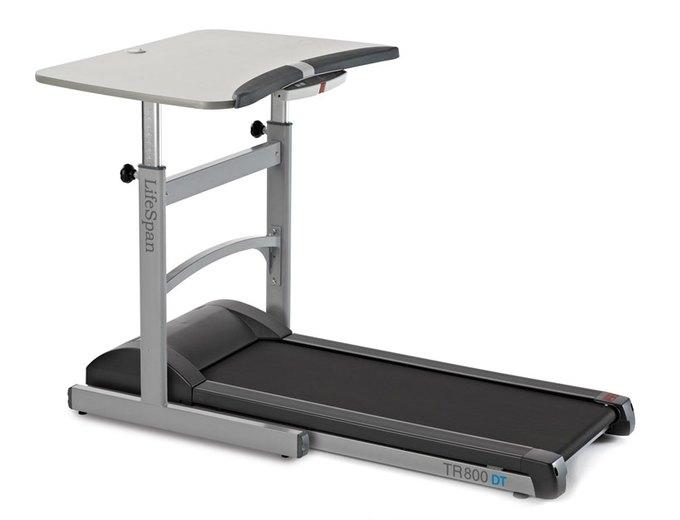 LifeSpan выпустили беговые дорожки с компьютерным столом. Изображение № 2.